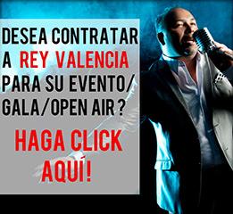 reservar un evento con Rey Valencia